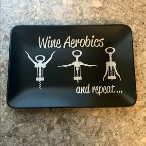 Other - Wine accessories cheese plate